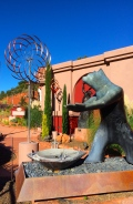 Sculptures in Sedona