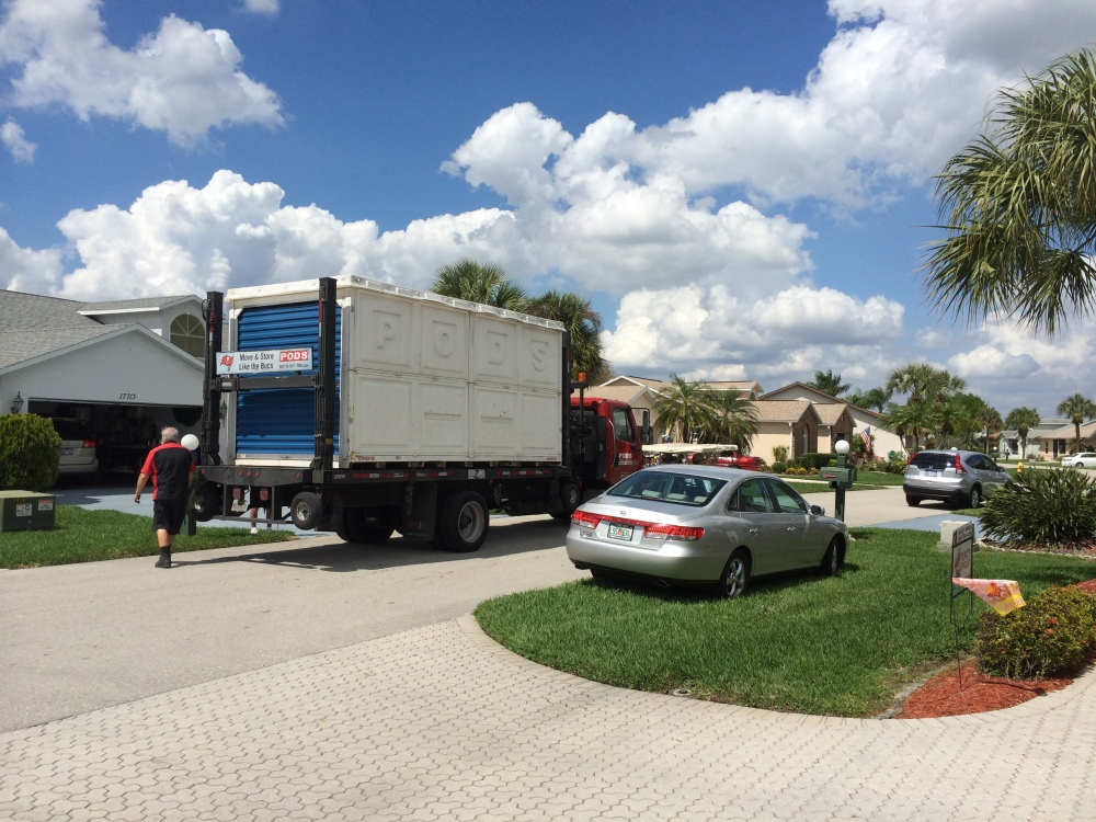 Moving Mom Part Six - The POD Has Landed (2/4)
