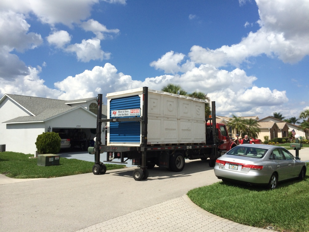 Moving Mom Part Six - The POD Has Landed (3/4)