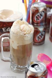 Root Beer Float Break - a necessary diversion and a mighty tasty, frosty little beverage.