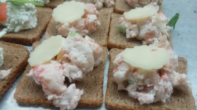 Lobster Tea Sandwich
