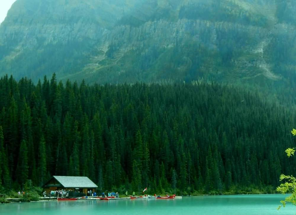 Travels in Canada - Lake Louise, Alberta - part one (2/6)