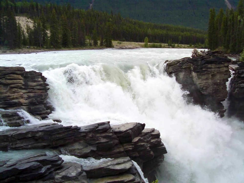 Travels in Canada - part ten - Athabasca Falls (2/4)