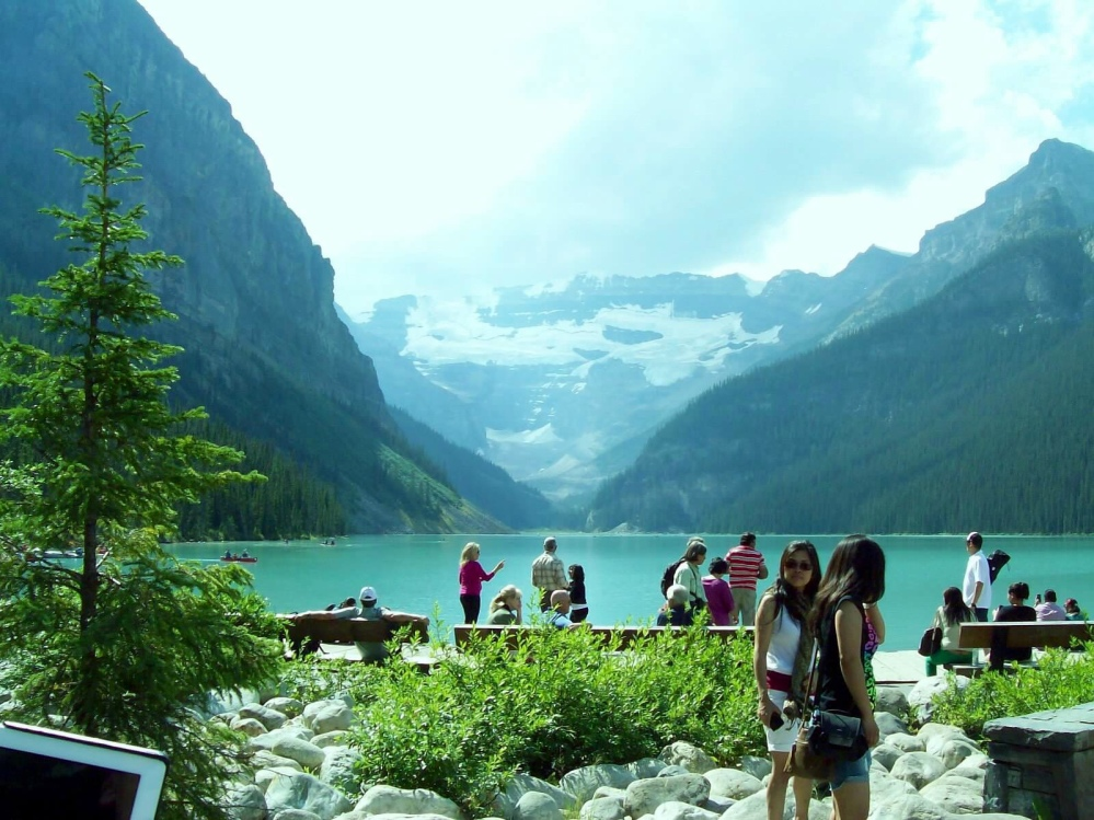 Travels in Canada - Lake Louise, Alberta - part one (1/6)