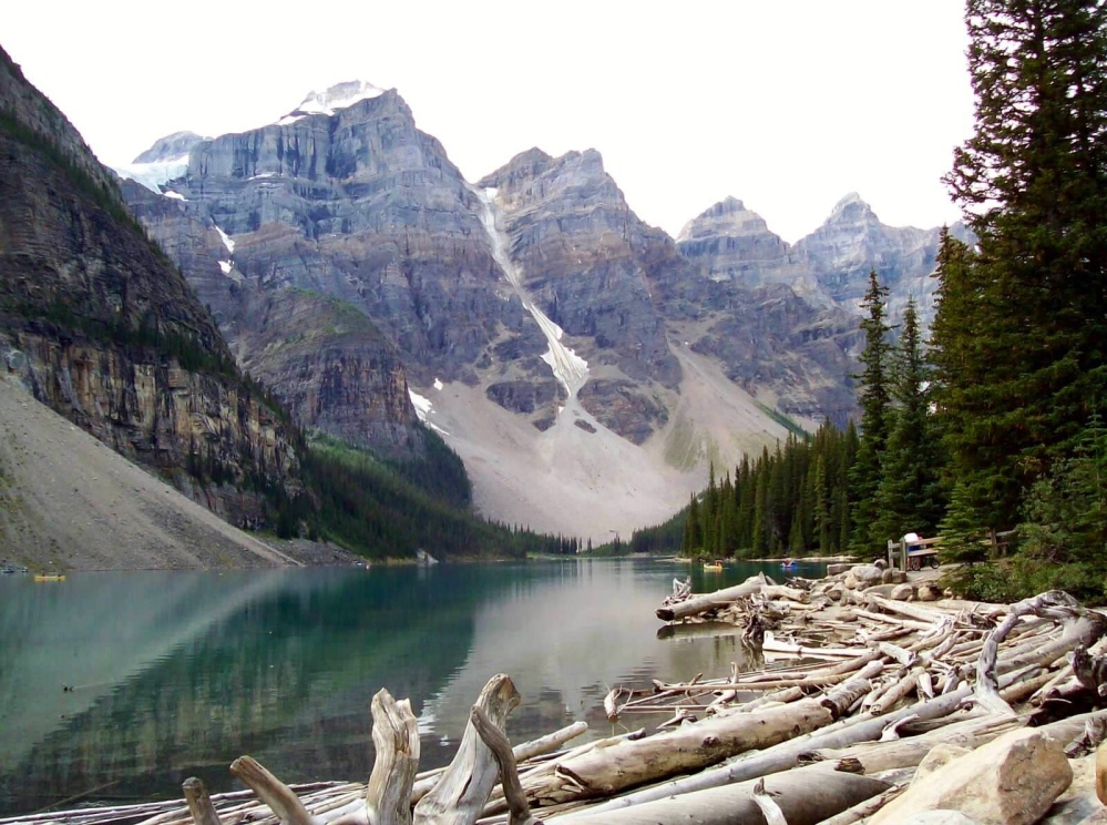 Travels in Canada - Moraine Lake - part four (5/6)